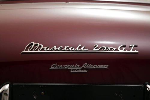 1956 Allemano Maserati A6G54 2000 GT 5