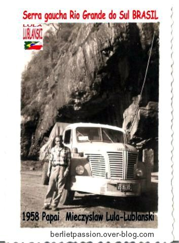 1956 Berliet au Brésil