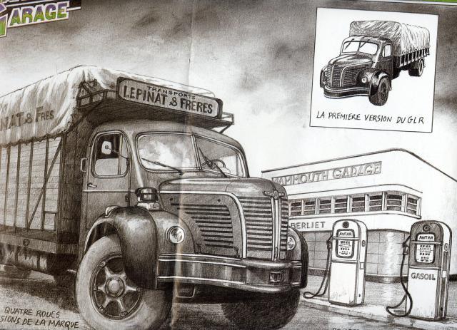 1956 Berliet DU GLR Strip