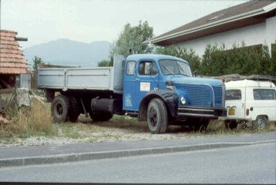 1956 BERLIET GLM 10 R couchette, 6cyl 150 cv