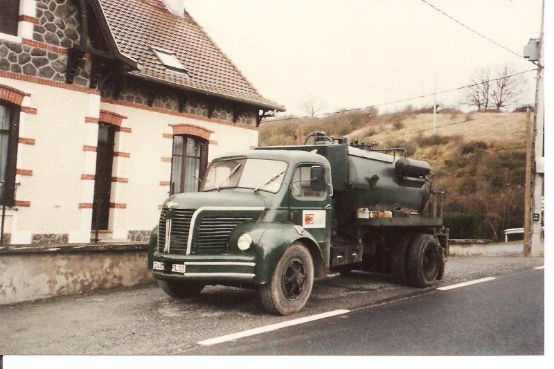 1956 Berliet GLR 8 b porteur goudronneuse