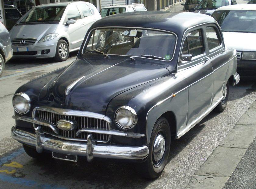 1956 Fiat 1400(1900) Berlina