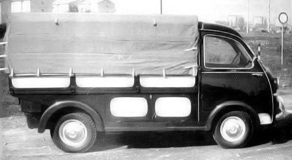 1956 fiat 600 multipla camioncino