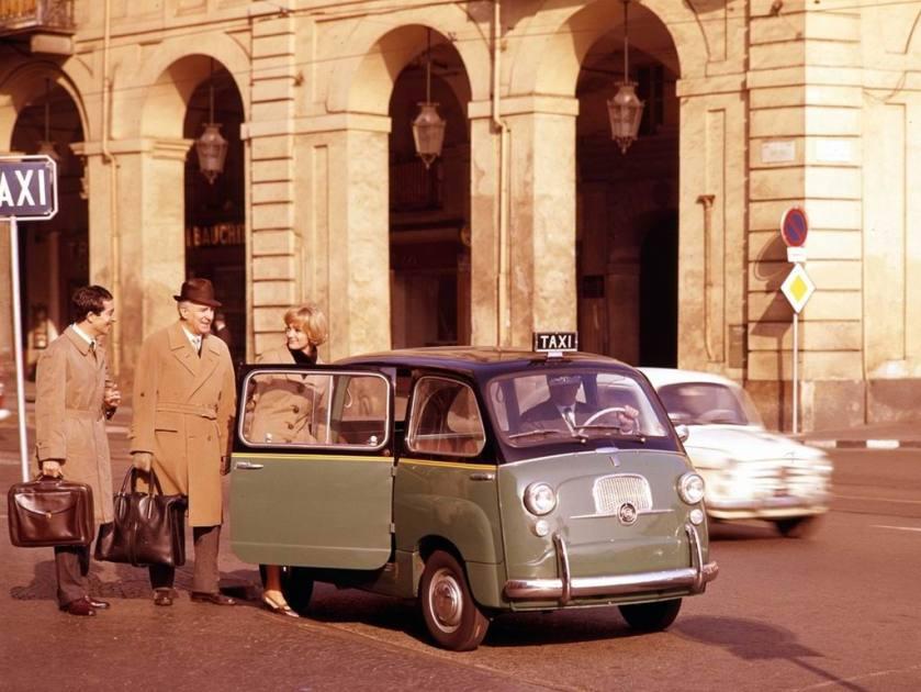 1956 Fiat 600 Multipla Taxi c