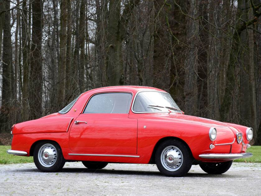 1956 Fiat Abarth 750 Coupe by Viotti