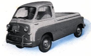 1956 Fiat Multipla Camoincino