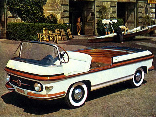 1956 Fiat Multipla Marine Pininfarina