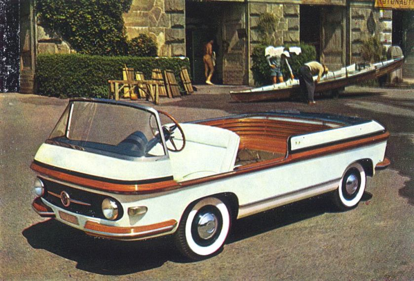 1956 fiat multipla marine, pininfarina