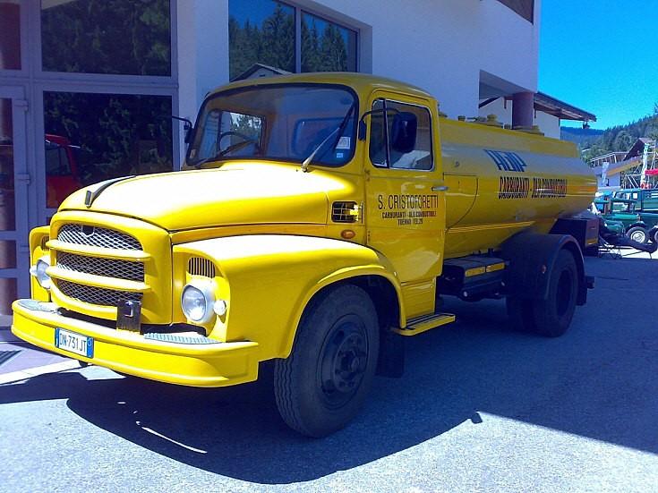 1956 Fiat oil truck