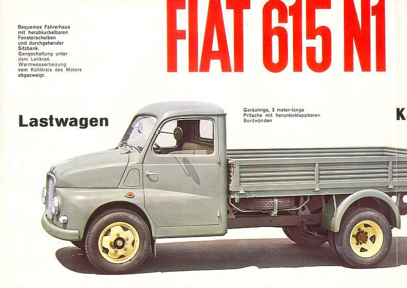 1956 Fiat Steyr 615 N1