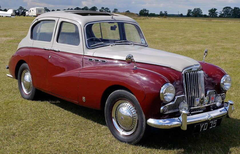 1956 Sunbeam Mk III