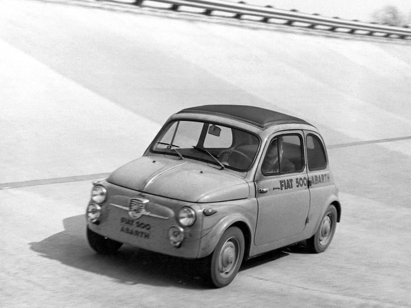 1957-63 Fiat 500 Abarth