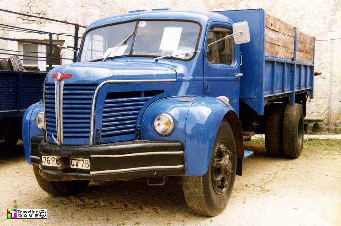 1957 BERLIET GLR 8 R