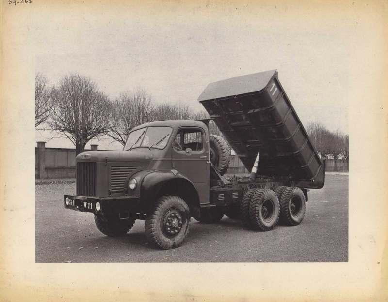 1957 Berliet Keeper truck