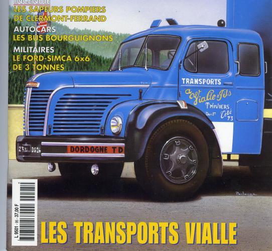 1957 Berliet Les transports Vialle de Thiviers, Dordogne