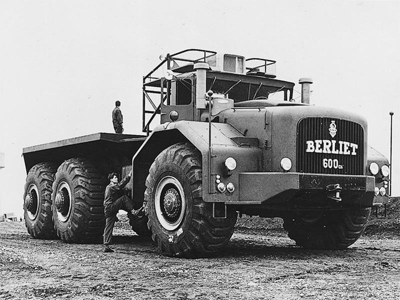 1957 BERLIET T 600
