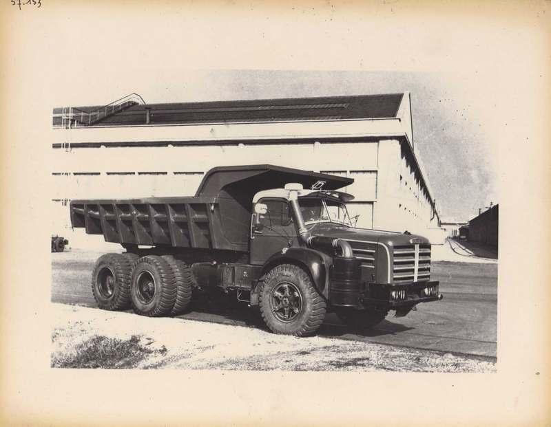1957 Berliet T Dump truck