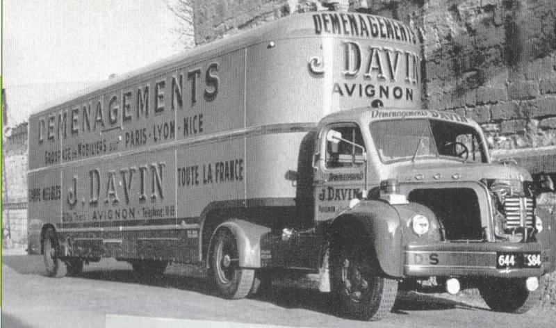 1957 BERLIET TLC 8 R, 5 cyl, ricardo de125 cv des Transports Davin d' avignon