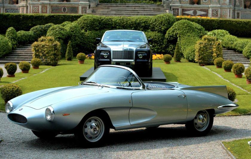 1957 Bertone Fiat Stanguellini 1200 Spider