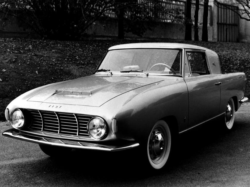 1957 Fiat 1100 TV Coupe Concept