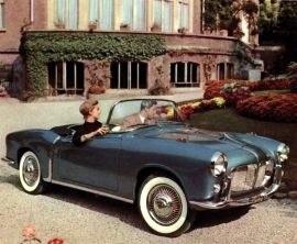 1957 Fiat 1200 Spider