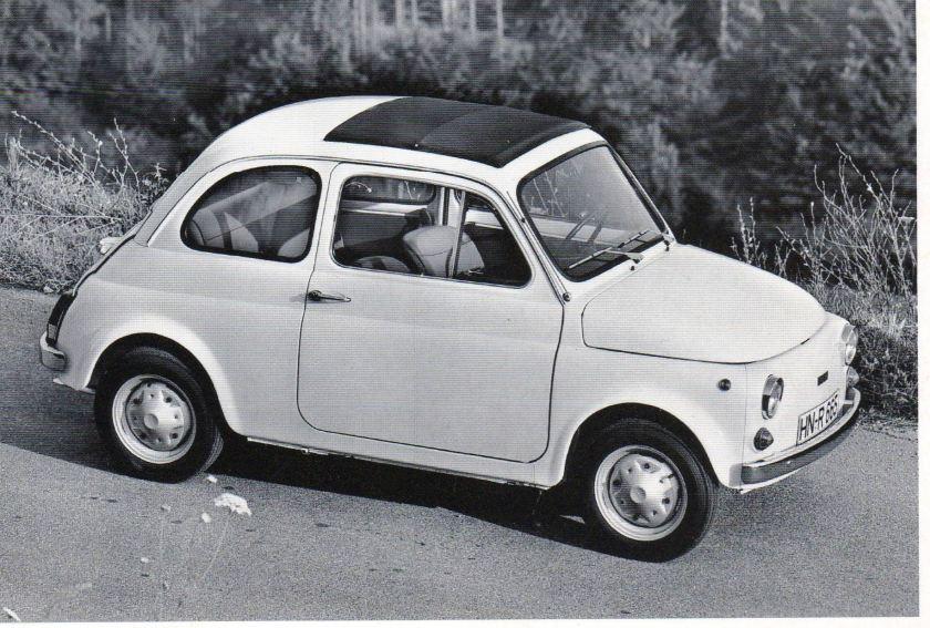 1957 FIAT 500 A