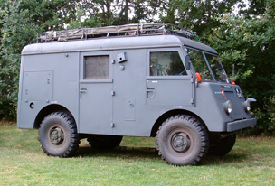 1957 Mowag military signals carrier (radio truck)