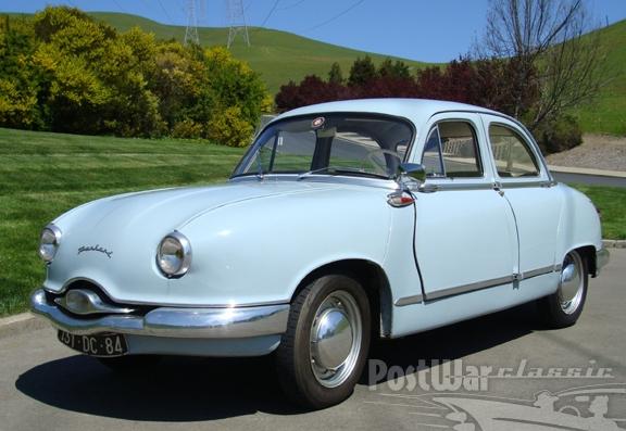 1957 Panhard Dyna Z Sedan