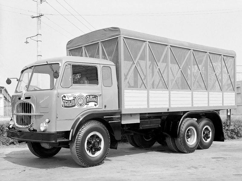 1958-64 Fiat 682 N2 6x2