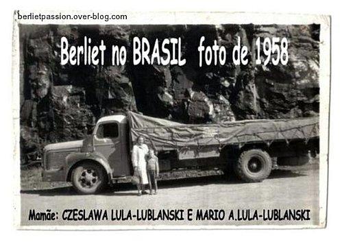 1958 Berliet au Brésil