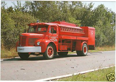 1958 Berliet citerne Sapeurs Pompiers