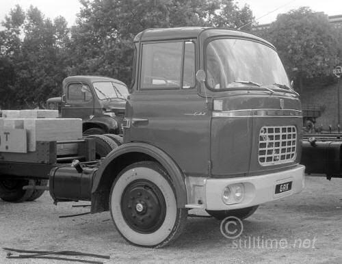 1958 Berliet GAK présenté au salon du poids lourd d'
