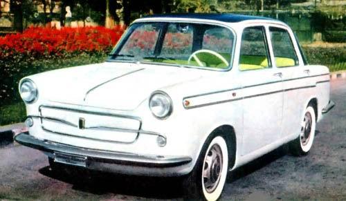 1958 Fiat 600 Berlina Allemano 1