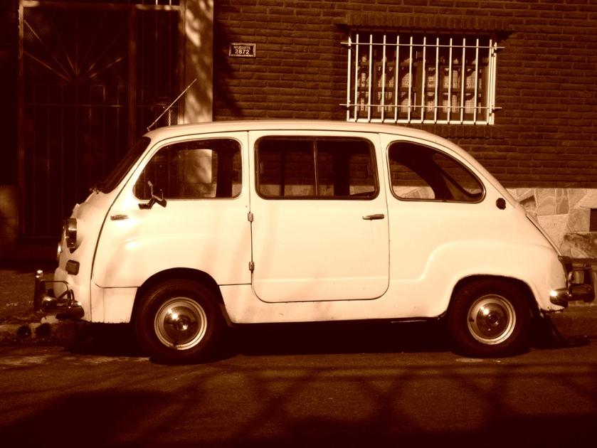 1958 Fiat Multipla  (en alquiler)