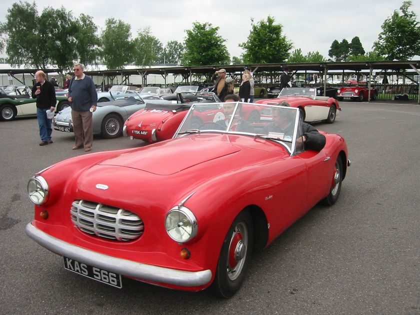 1958 G Type Alvis Healey
