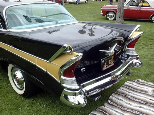 1958 Packard rear