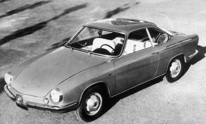 1959 Allemano Fiat Abarth 850 Coupe