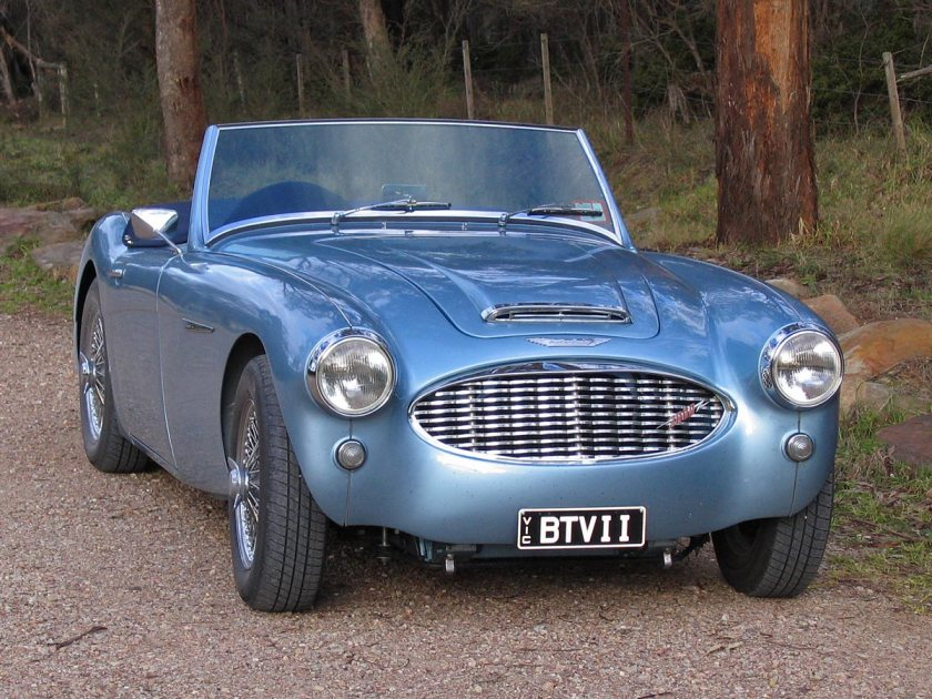 1959 Austin-Healey 3000-Front