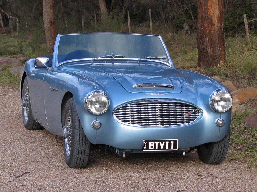 1959 Austin-Healey 3000-Front