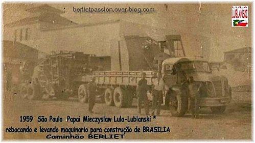 1959 Berliet au Brésil