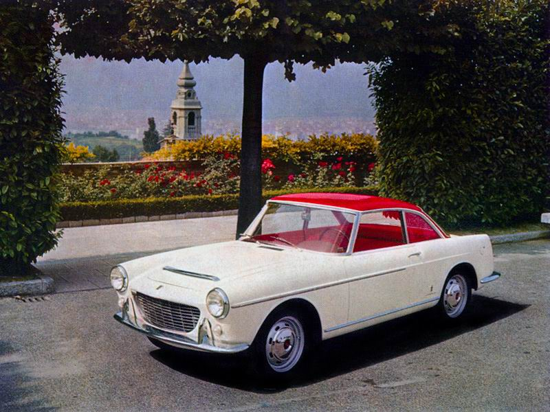 1959 Fiat 1500 Coupe by Pininfarina
