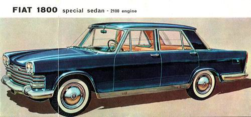 1959 fiat 2100 sedan