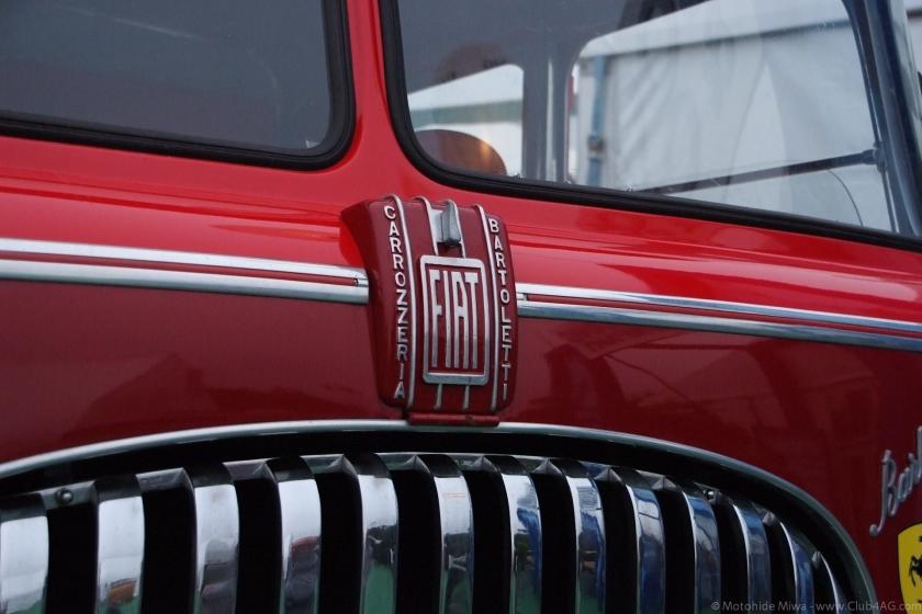 1959 Fiat 682 RN2 Bisarca Bartoletti logo