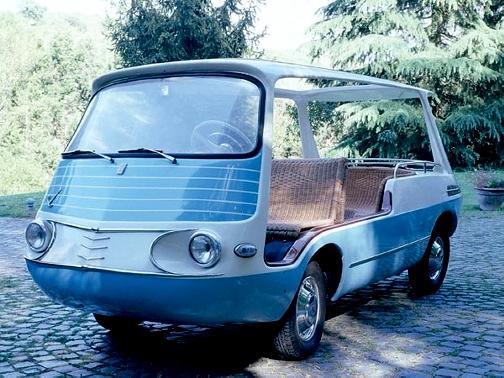 1959 Fiat Marianella by Fissore-fV