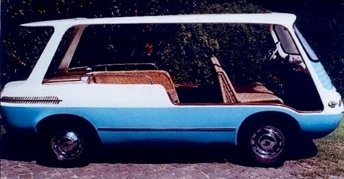 1959 Fiat Marianella by Fissore