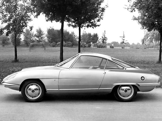 1959 Fiat Osca 1500 Concept  дизайн Bertone