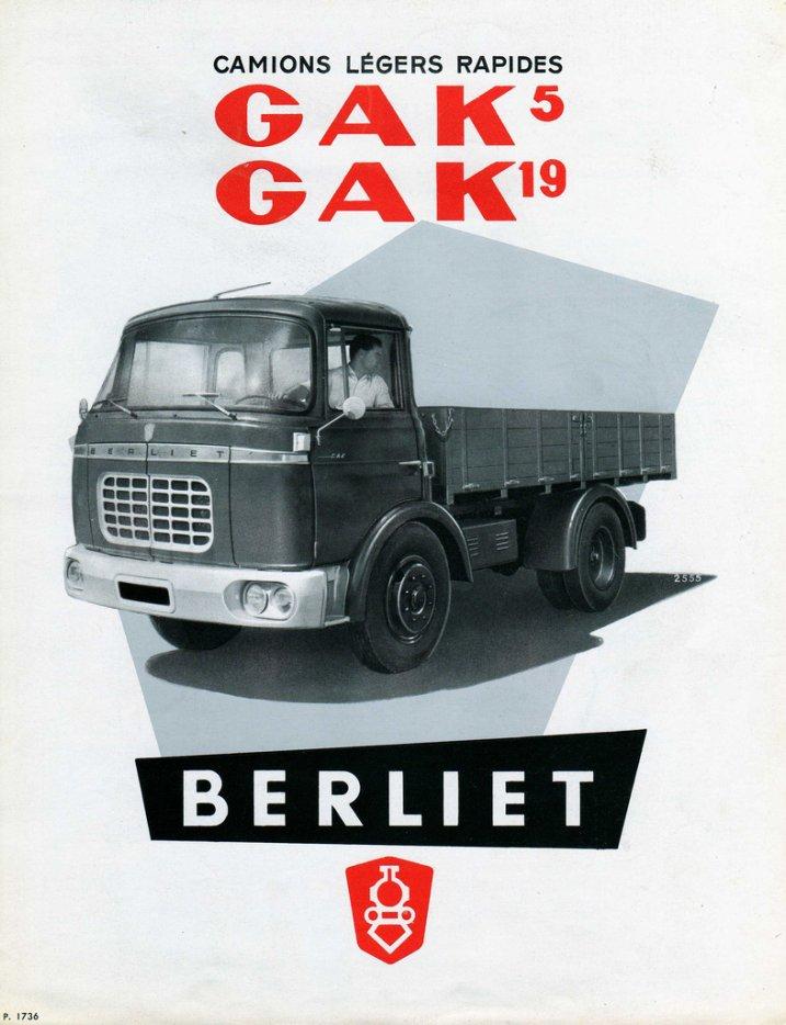1960 Berliet GAK 5-19