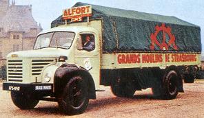 1960 BERLIET GLR 8 M 2, 5cyl, 150 cv. Evolution de la gamme BERLIET