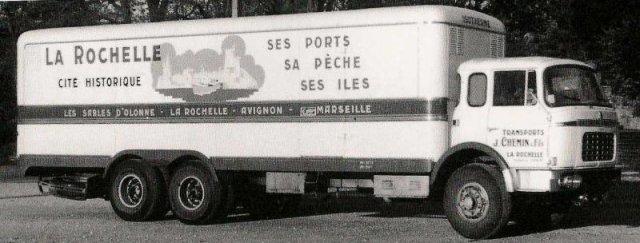 1960 Berliet GPRK 10 de 26 tonnes des Trps Chemin de la Rochelle