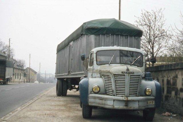 1960 BERLIET TLR 10 M, 6 cyl, 180 cv